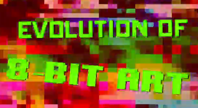 evolution-8bit-art